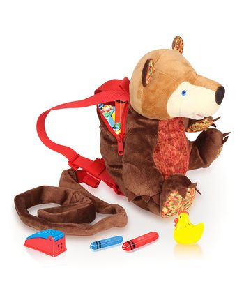 Eric Carle Bear Backpack Harness