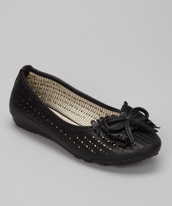 Black Lolly Ballet Flat