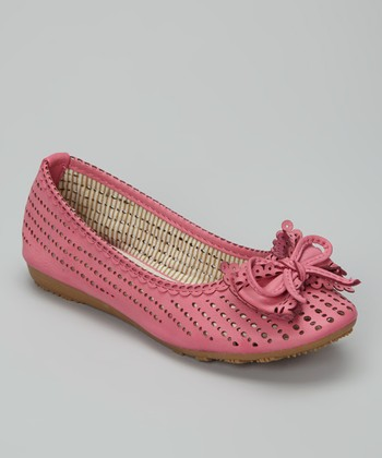 Fuchsia Lolly Ballet Flat