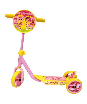 Yellow Lalaloopsy Scooter