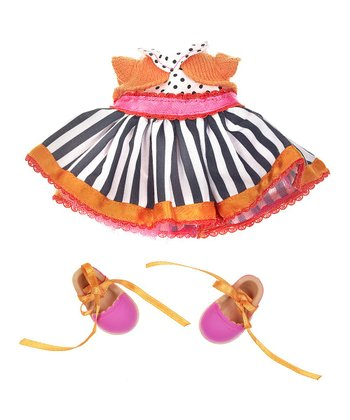 Stripe Dress Lalaloopsy Doll Outfit Set