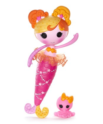 Lala-Oopsies Opal Mermaid Doll