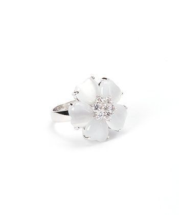 Sparkle Flower Ring