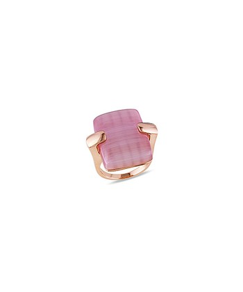 Pink & Light Purple Cat Eye Ring