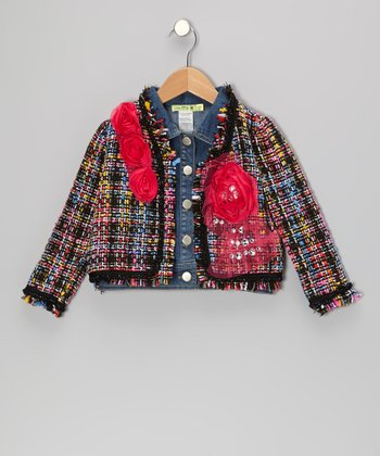 Denim Midnight In Paris Jacket - Toddler & Girls