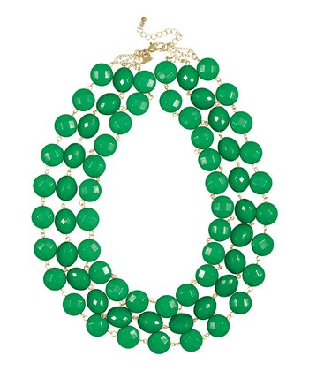 Kelly Green Lila Necklace