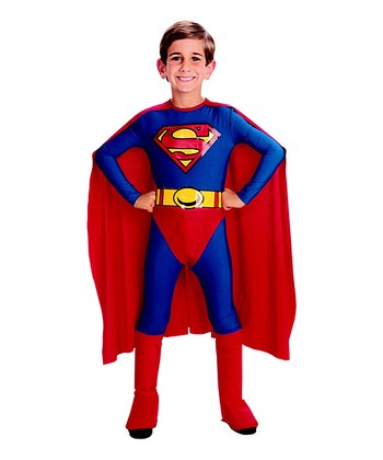 Superman Caped Dress-Up Set - Toddler & Kids