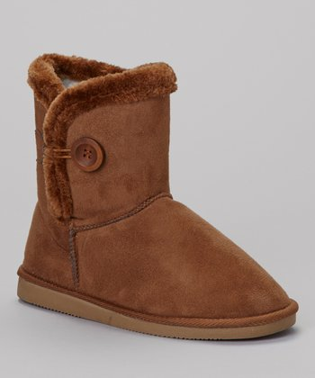 Chestnut Toggle Lo Boot