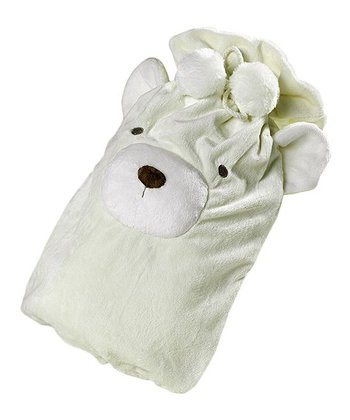 White Hot Water Bottle Cover
