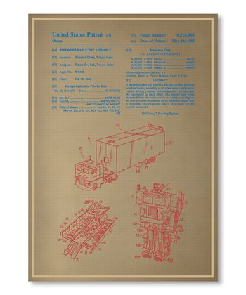Industrial Design: Blueprint Art