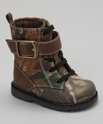 Brown Camo Montana Boot