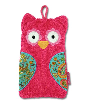 Owl Bath Mitt