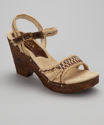 Brown Stephanie Espadrille