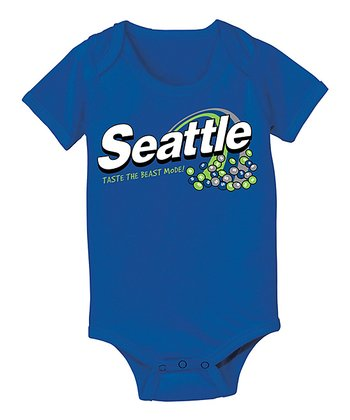 Royal Blue 'Taste the Beastmode' Bodysuit - Infant