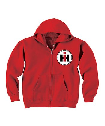 Red 'McCormick Farmall' Hoodie - Toddler & Kids