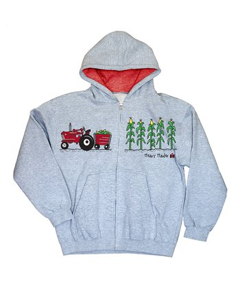 Athletic Red 'Heavy Hauler' Lined Hoodie - Toddler & Kids