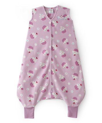 Pink Cupcake Early Walker SleepSack