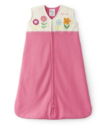 Pink & White Flower HALO SleepSack