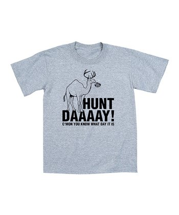 Athletic Heather 'Hunt Daaaay!' Tee - Men