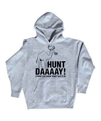 Athletic Heather 'Hunt Daaaay!' Hoodie - Men