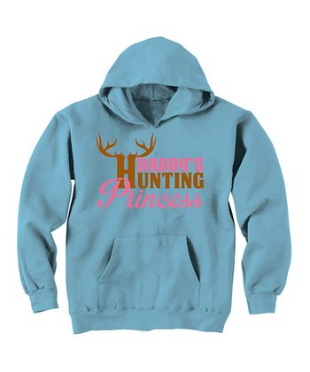Aqua 'Daddy's Hunting Princess' Hoodie - Toddler & Girls