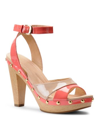 Coral Coast Patent Leather Madalen Sandal