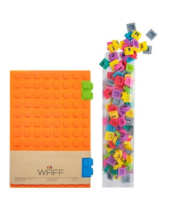 Orange WAFF Book & Cube Set