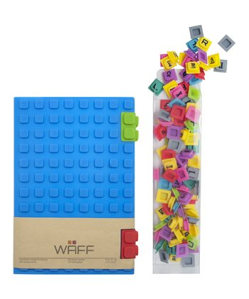 Blue WAFF Book & Cube Set