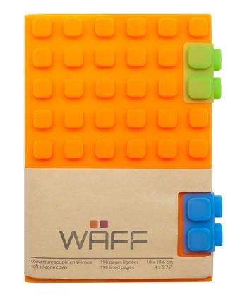 Orange WAFF Notebook