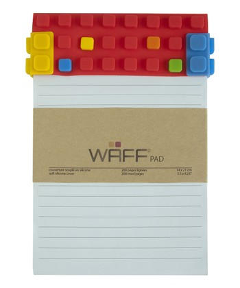 Red WAFF Notepad