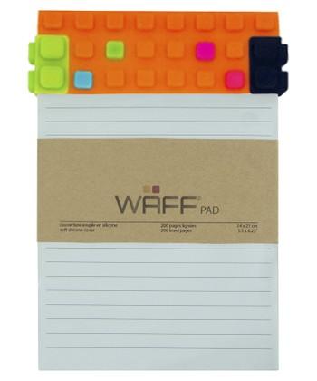 Orange WAFF Notepad