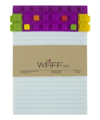 Purple WAFF Notepad