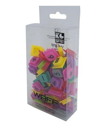 WAFF Math Cubes Set