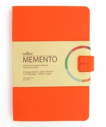 Orange WAFF Memento Journal
