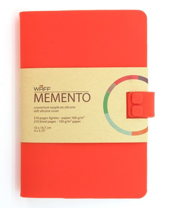 Bright Red WAFF Memento Journal
