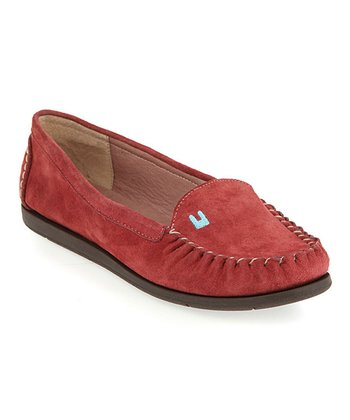Red Indiana Loafer - Women