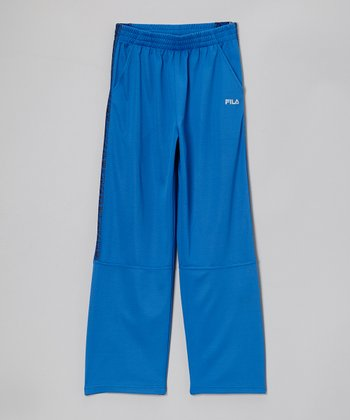 Prince Blue Track Pants - Boys