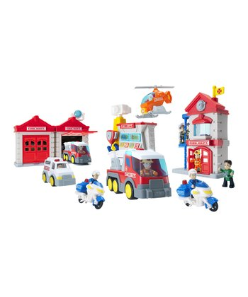 Fire Department Play Set