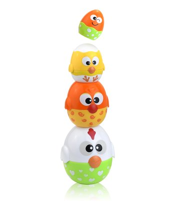 Chicken & Egg Stacking Cup Set