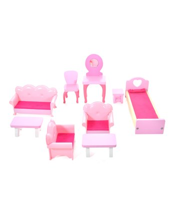Rock Star Dollhouse Furniture Set