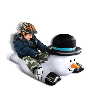 Belly Whopper Inflatable Snowman