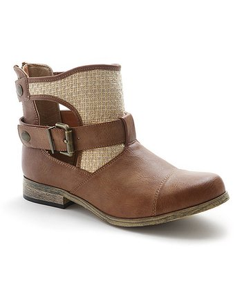 Tan Barr Ankle Boot