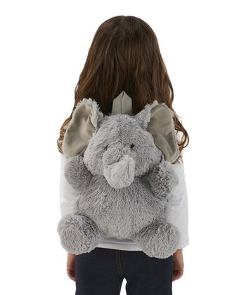 Gray Elephant Backpack