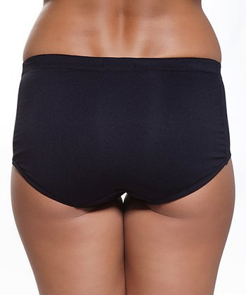 Black Padded Briefs - Women