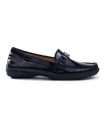 Navy Patent Abby Loafer