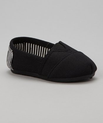 Black Stripe Kaymann Slip-On Shoe