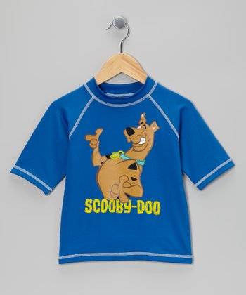 Blue Scooby-Doo Rashguard - Boys