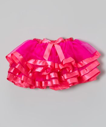 Hot Pink Organdy Tutu - Infant, Toddler & Girls
