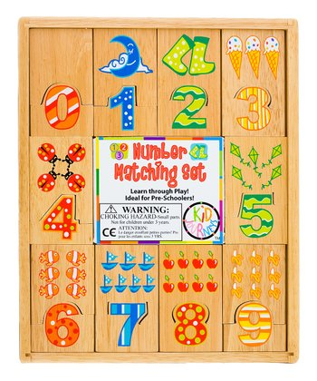 Number Matching Puzzle Set