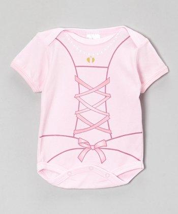 Mon Cheri Baby Pink Ballet Bodysuit - Infant